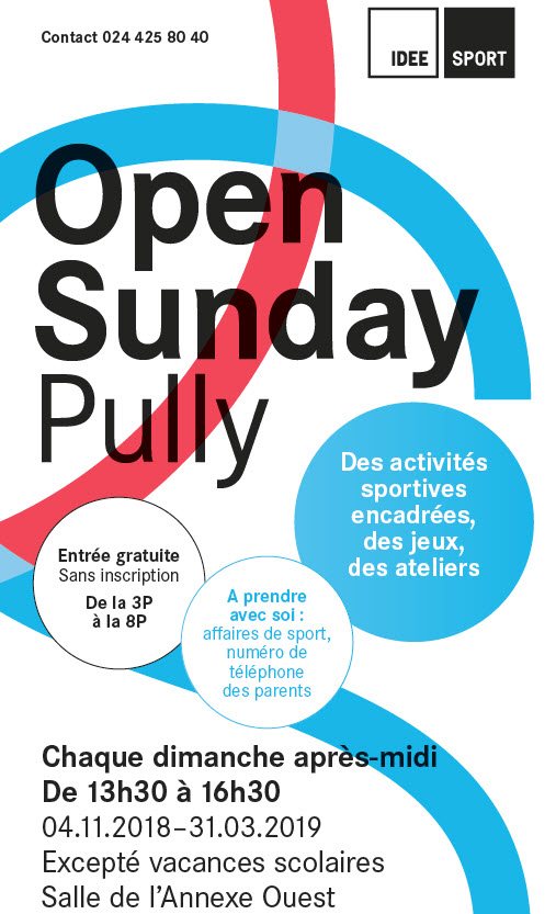 Open Sunday Affiche